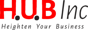 The HUB Inc logo