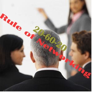 20-60-20 Rule of Networking